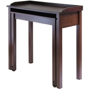 Winsome Composite Wood Computer Desk, Antique Walnut