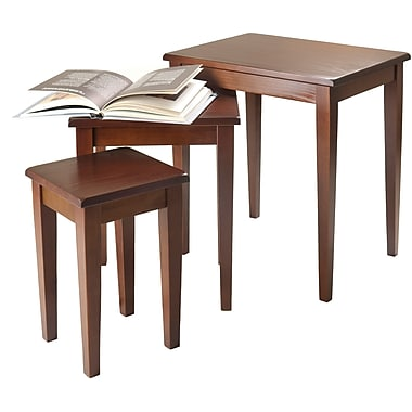 Winsome Trading Regalia Wood Sets Table, Brown, Each (94320WTI)