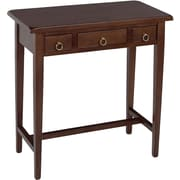 "Winsome Regalia 28.74"" x 28 1/2"" x 14 1/4"" Beech Wood Hall Table, Brown"