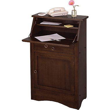 Winsome Regalia Secretary Desk, Antique Walnut