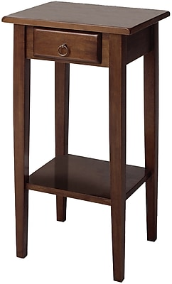 Winsome Trading Regalia Wood Accent Table, Brown, Each (94430WTI) 55844