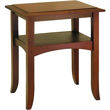 Winsome Trading Craftsman Wood End Table, Brown, Each (94723WTI)