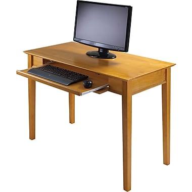 Winsome Studio Beech Wood Computer Desk, Honey