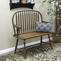Carolina Cottage American Oak Windsor Bench