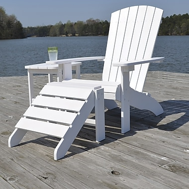 Carolina Cottage Cape Cod High-Density Plastic Adirondack Chairs