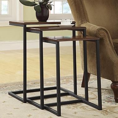 Carolina Cottage Wood Addison Nesting Table Set, 3/Set