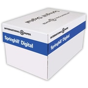 """Springhill® 90 lbs. Index Cover, 9"""" x 11"""", White, 2500/Case"""
