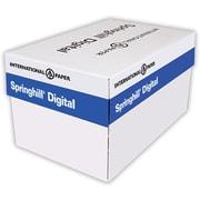 """Springhill® 67 lbs. Vellum Bristol Cover, 8 1/2"""" x 14"""", White, 2000/Case"""