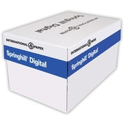 "IP Springhill® Opaque 8 1/2"" x 11"" 60 lbs. Colored Copy Paper, Blue, 5000/Case"