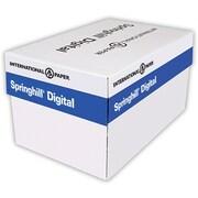 "Springhill® 67 lbs. Vellum Bristol Cover, 8 1/2"" x 11"", Canary, 2000/Case"