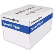 "Springhill® 67 lbs. Vellum Bristol Cover, 11"" x 17"", Canary, 1000/Case"