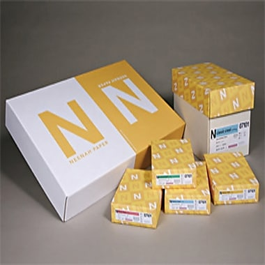CLASSIC COLUMNS® Cardstock, 8 1/2in. x 11in., 80 lb., Linear Pattern, Solar White, 250/Ream