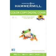 Hammermill® 100 lbs. Color Copy Digital Ultra Smooth Photo Cover, 11 x 17, White, 250/Ream