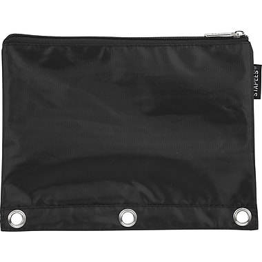 Staples® Polyester 3-Ring Binder Pouch