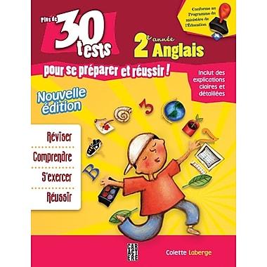 30 tests d'anglais de deuxième année pour élèves francophones