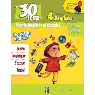 Fourth Grade 30 English Tests for French Students
