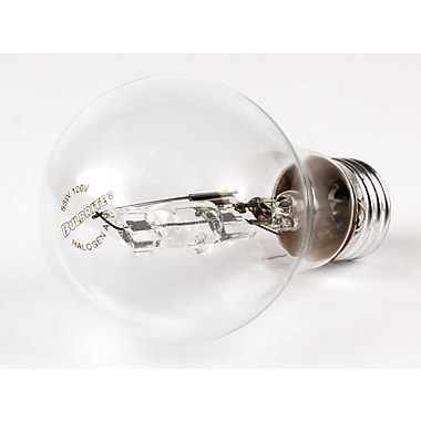 53 Watt Bulbrite® A19 Clear E26 EcoHalogen Halogen Bulb (120-Pack), Warm White