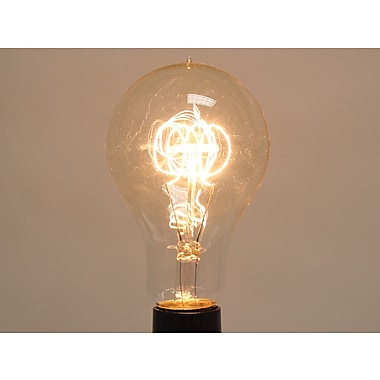 40 Watt Bulbrite® A23 Antique E26 Nostalgic Decorative Bulb (2-Pack), Warm White