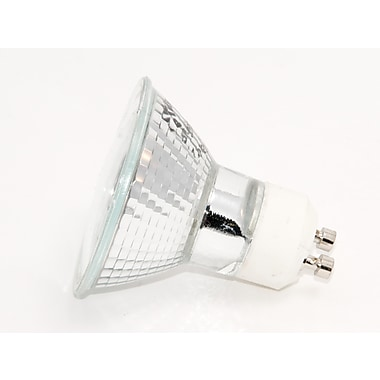50 Watt Plusrite® MR-16/L Halogen Cool White Narrow Flood Bulbs