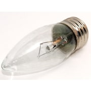 40 Watt Bulbrite® Krystal Touch® B10 Clear E26 Krypton Decorative Bulb (10-Pack), Cool White