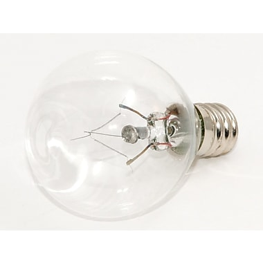 15 Watt Bulbrite® Krystal Touch® G11 Clear E12 Krypton Decorative Bulb (10-Pack), Cool White
