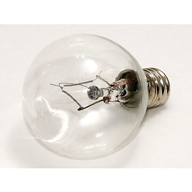 40 Watt Bulbrite® Krystal Touch® G11 Clear E12 Krypton Decorative Bulb (10-Pack), Cool White