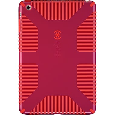 Speck CandyShell Grip Cases for iPad Mini, Fuchsia Pink/Poppy Red