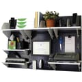 Wall Control Desk and Office Craft Center Organizer Kit, Black Tool Board and White Accessories