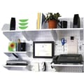 Wall Control Desk and Office Craft Center Organizer White Tool Board and Accessories Kit