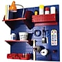 Wall Control Craft Center Pegboard Organizer Kit, Blue