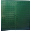 Wall Control Combo Metal Pegboard Panel, Green, 2/Pack