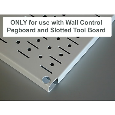 Wall Control Deluxe Metal Pegboard Hook Kit