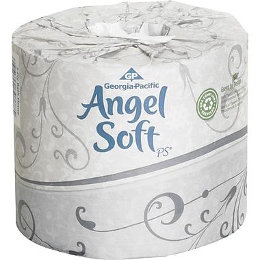 Angel Soft® Bath Tissue Rolls, 2-Ply, 40 Rolls/Case