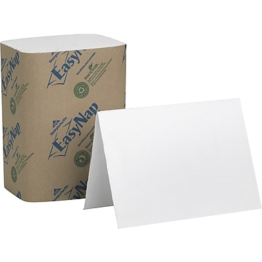 EasyNap 100% Recycled Embossed Paper Dispenser Napkins, 2-Ply, 6,000/Case
