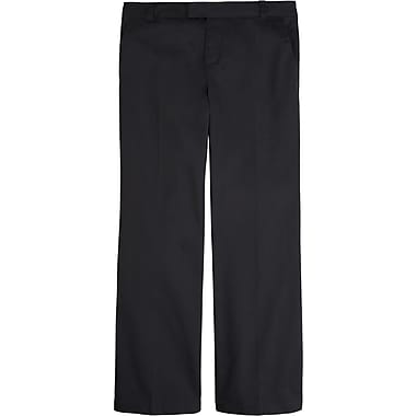 French Toast Girls Adjustable Waist Pant, Black, Size 14 Plus