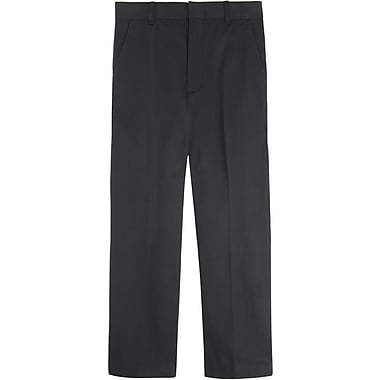 French Toast Boys Adjustable Waist Pant, Black, Size 14