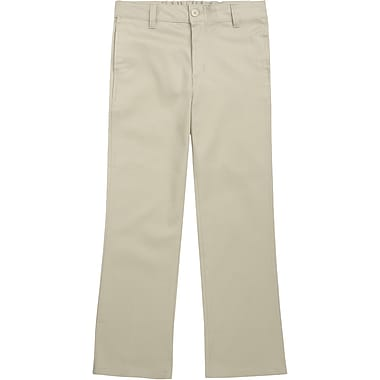 French Toast Girls Stretch Twill Pants, Khaki