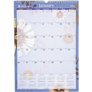 2014 AT-A-GLANCE® Paper Flowers Wall Calendar, 12 x 17