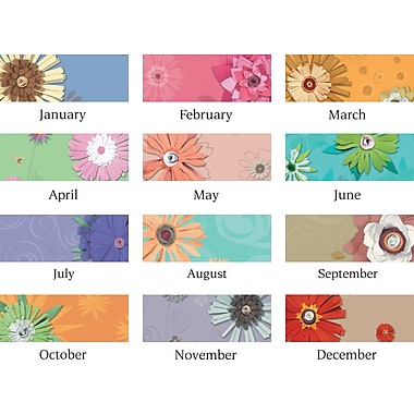 2014 AT-A-GLANCE® Paper Flowers Desk/Wall Calendar, 11 x 8 1/2