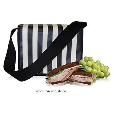 (eco) Blue Avocado Cafe Tote, Black Tux