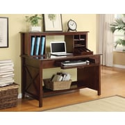 Inspired by Bassett Adeline Desk & Hutch, Mocha Finish