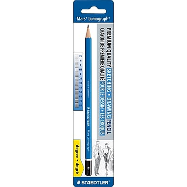 Staedtler-Mars® - Crayons à dessin Lumograph, 4H