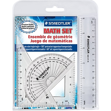 Staedtler® 4 Piece Math Set Instruments