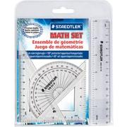 Staedtler® – Ensemble de mathématiques de 4 pièces
