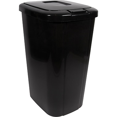 Hefty Touch Lid Wastebasket, 13.3 gal.