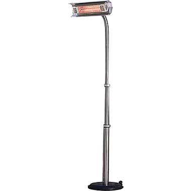 Paramount Offset Pole Mounted Stainless Steel Infrared Patio Heater