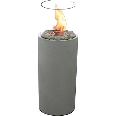 Paramount Small Cylinder Concrete Column Garden Burner
