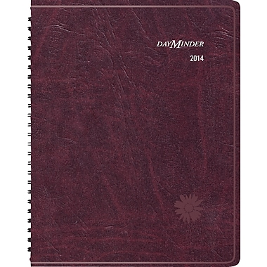 "2014 DayMinder® Floral Weekly/Monthly Planner, 8 1/4"" x 10 7/8"""