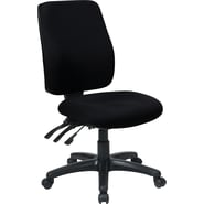 Office Star WorkSmart™  FreeFlex® Fabric High Back Ergonomic Task Chair with Ratchet Back,Black
