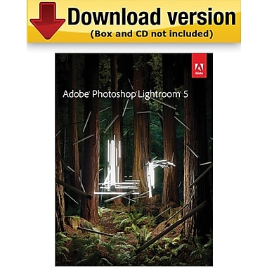 Adobe Photoshop Lightroom 5 for Windows/Mac (1-User) [Download]